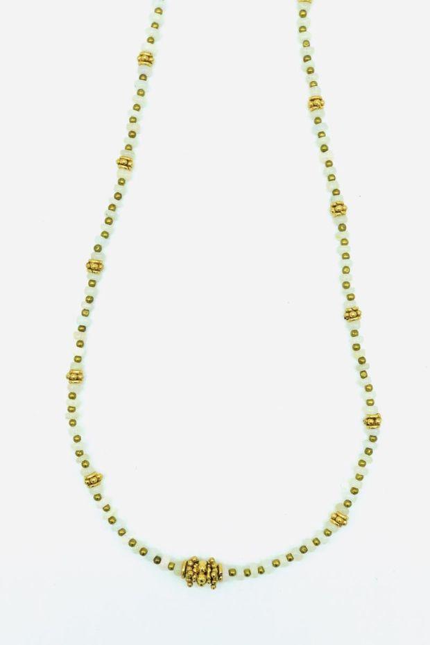 Bohemian Rhapsodie Collier SVEVA Opale Blanche