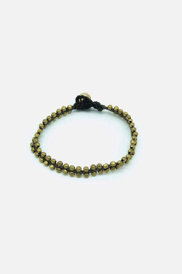 Bohemian Rhapsodie Bracelet GINA - Fil diamant & Bronze