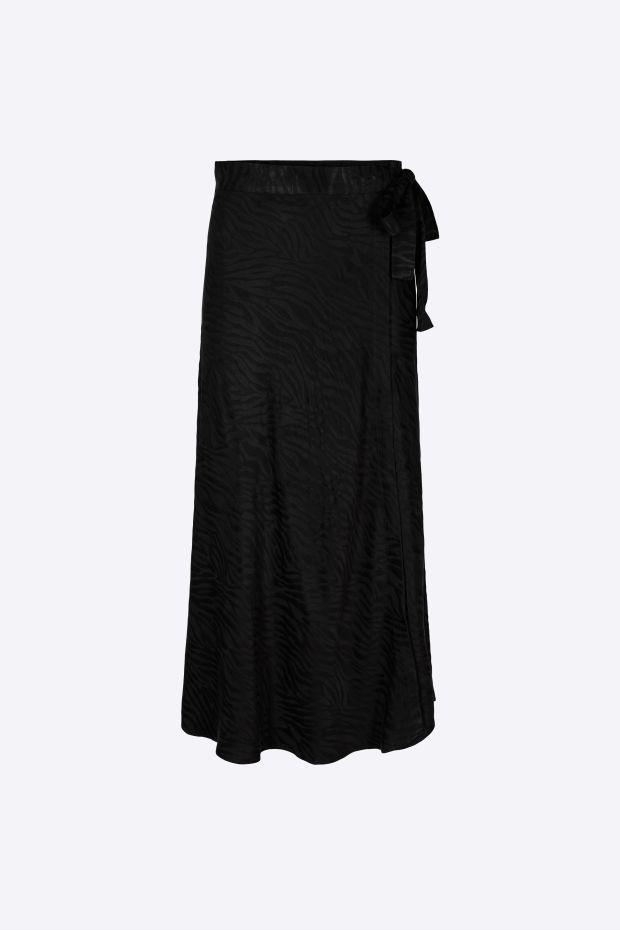Designers Remix Ruby Wrap Skirt - Black