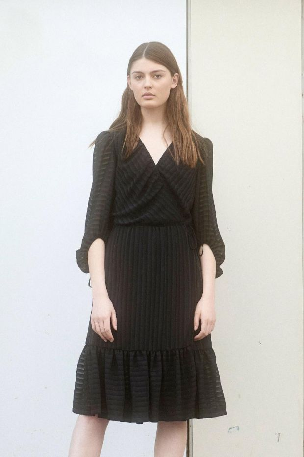 Designers Remix Corinne Dress - Black