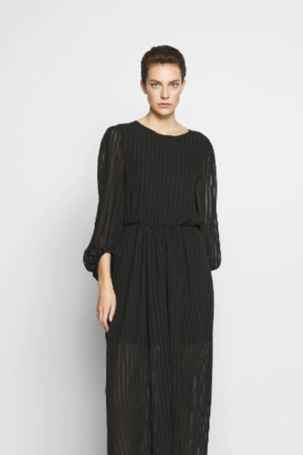 Designers Remix Corinne Long Dress - Black