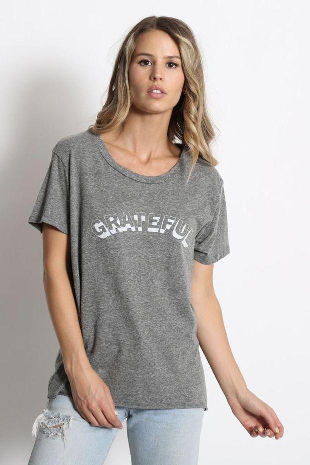 good hYOUman. Tee - Shirt Dakota - Grateful Vintage Arch - Heather
