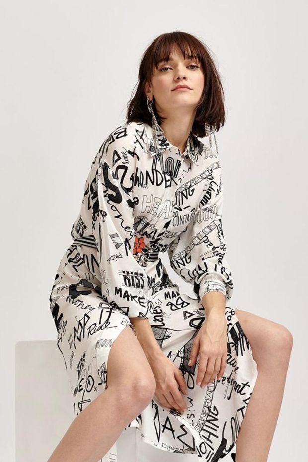 Essentiel Antwerp Robe VEVO - Shirt Dress - Off White