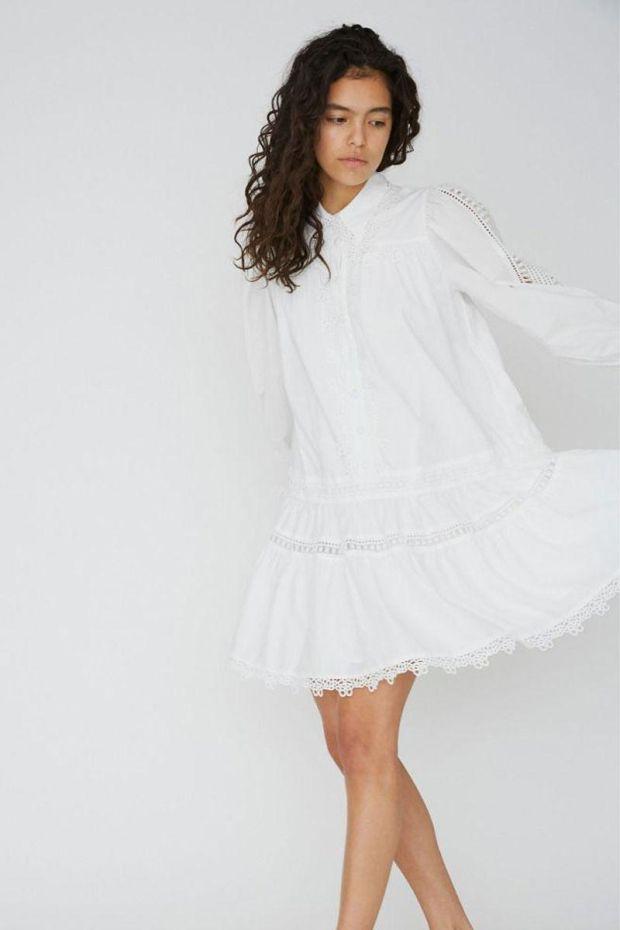 Designers Remix Sandra Dress - Cream