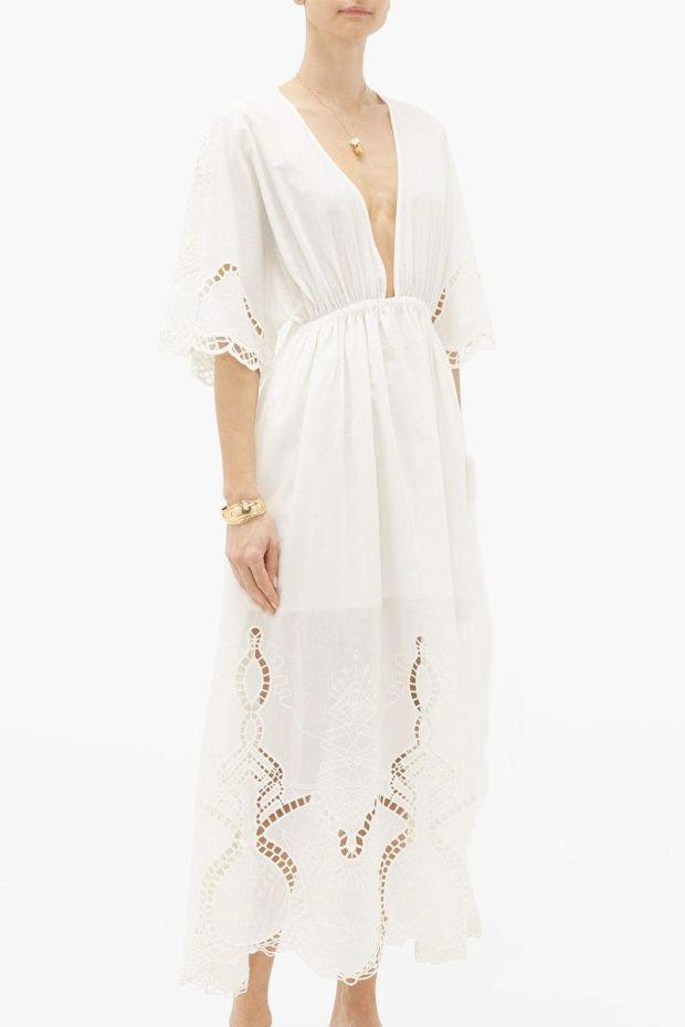 RHODE LIAM Dress - Ivory