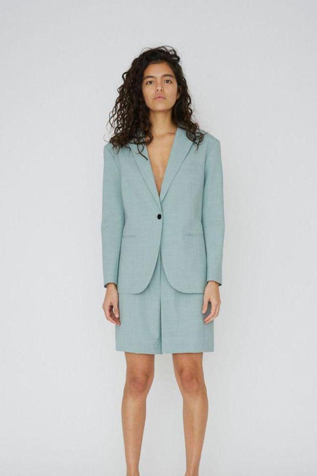 Designers Remix MARLEY Long Shorts - Light Dusty Green
