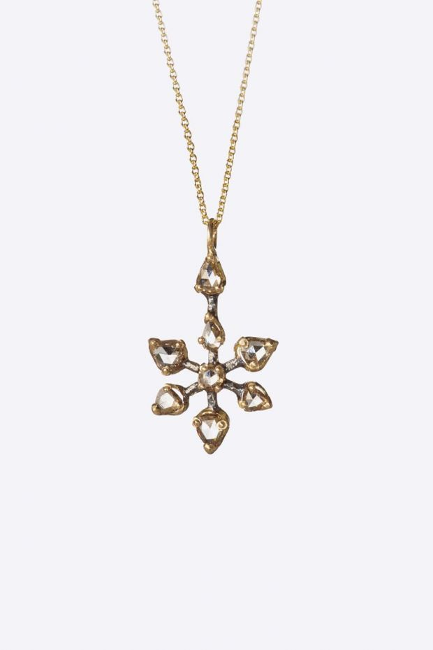 5 Octobre Collier SYD Or 14k - Diamants