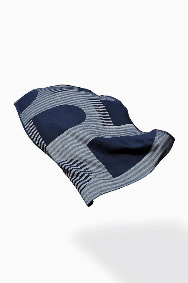 SCMP DESIGN OFFICE Marlo & Isaure  Fouta DAR 1 Towel - Bleu