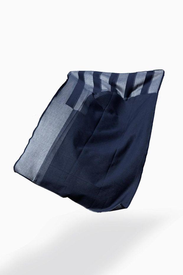 SCMP DESIGN OFFICE Marlo & Isaure  Fouta DAR 2 Towel - Bleu