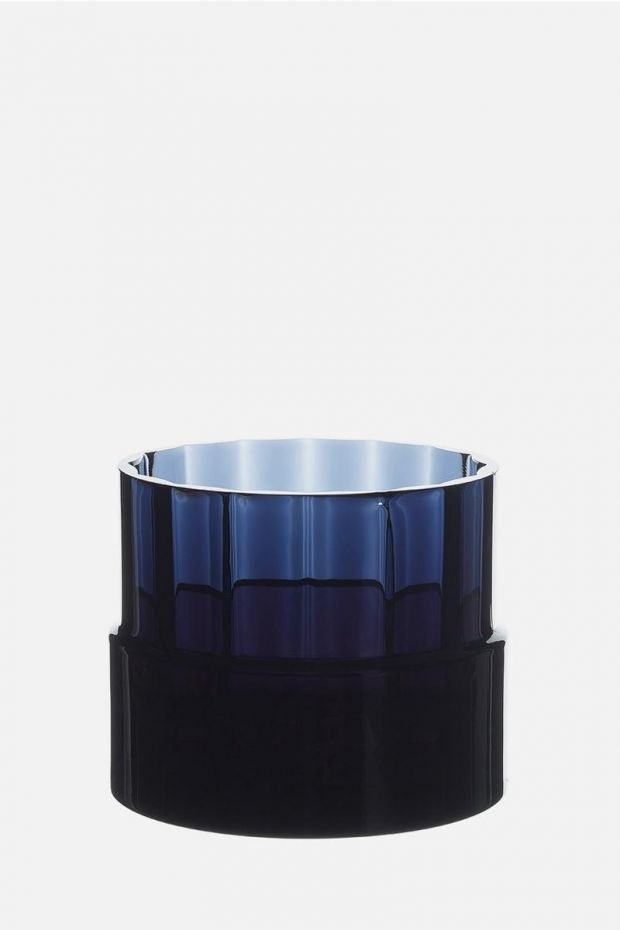 SCMP DESIGN OFFICE OMNIA SU collection by Pasabahçe  Vase WATER TOWERS - MAVI Blue