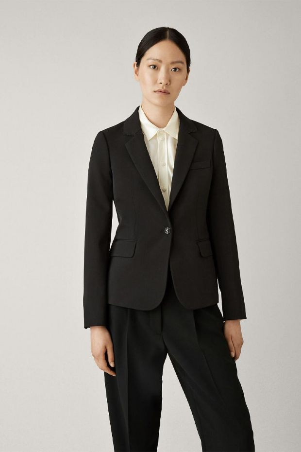 Joseph Blazer Comfort Wool IMMA - Black