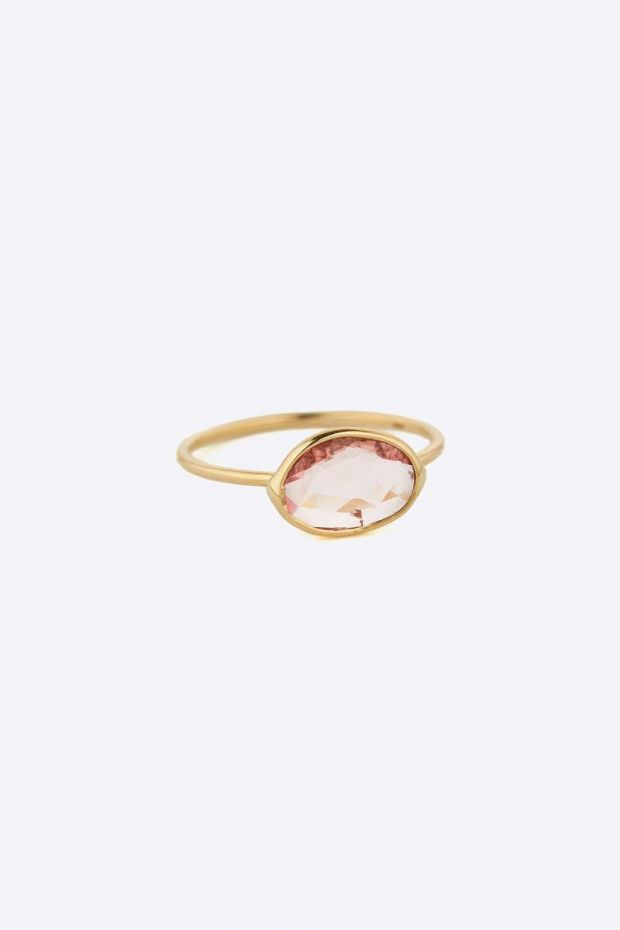 CELINE DAOUST Bague Maya & Big Tourmaline - Or Jaune