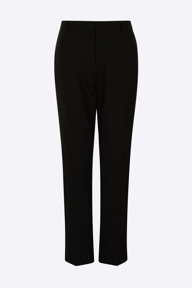 Joseph Pantalon Confort Wool ZOOM - Black