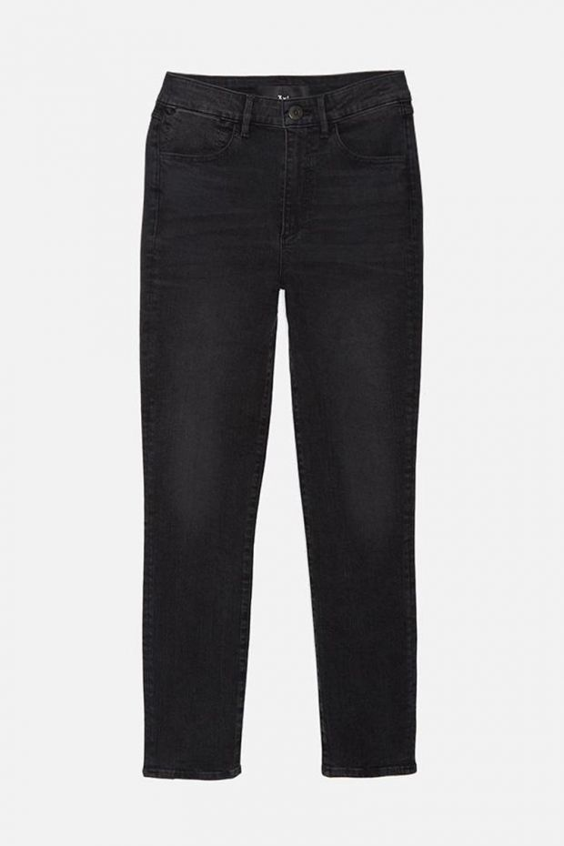3x1 Denim W3 Channel Seam Skinny - Black Cove