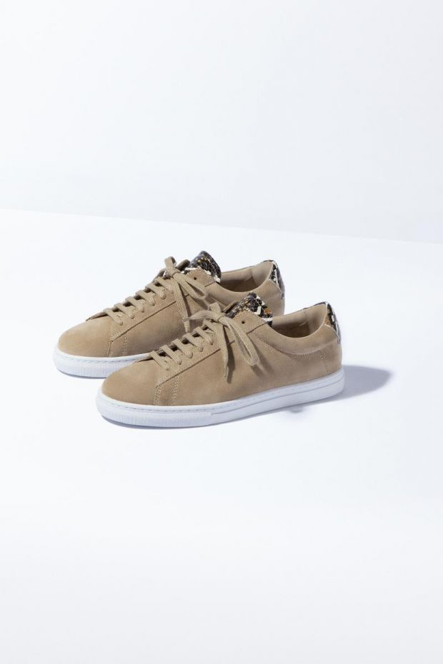 Zespa Sneakers ZSP4 Apla Suede  Vipere - Moutarde