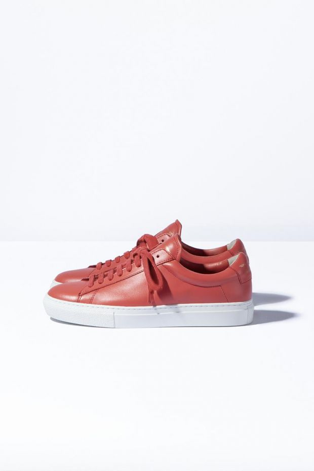 Zespa Sneakers ZSP4 High Nappa - Grenadine
