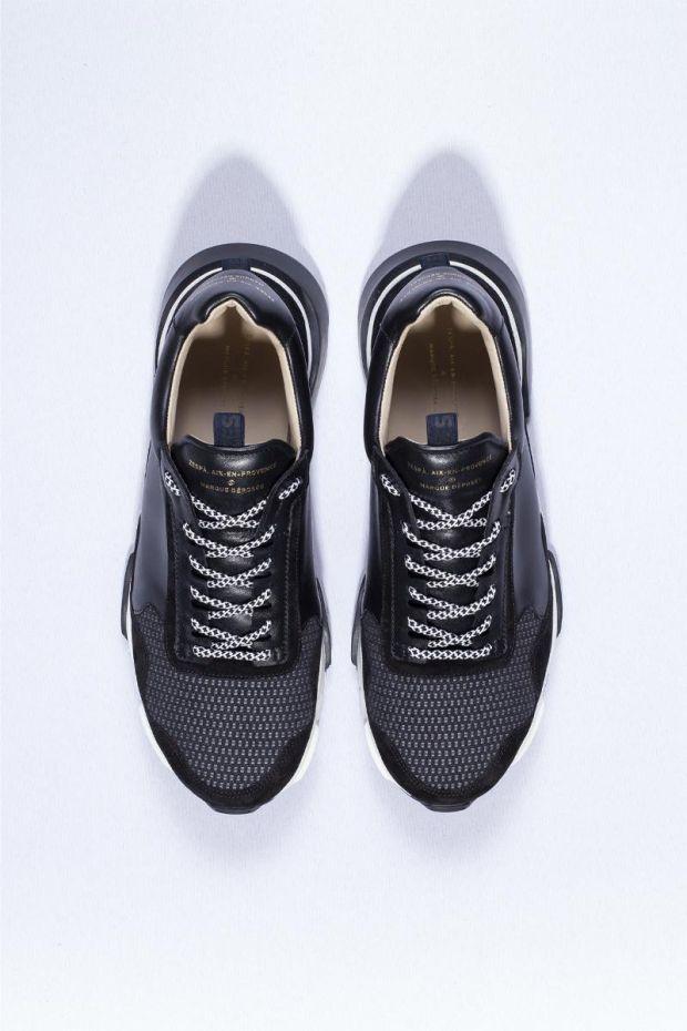 Zespa Sneakers ZSP7 Textile Symi - Black