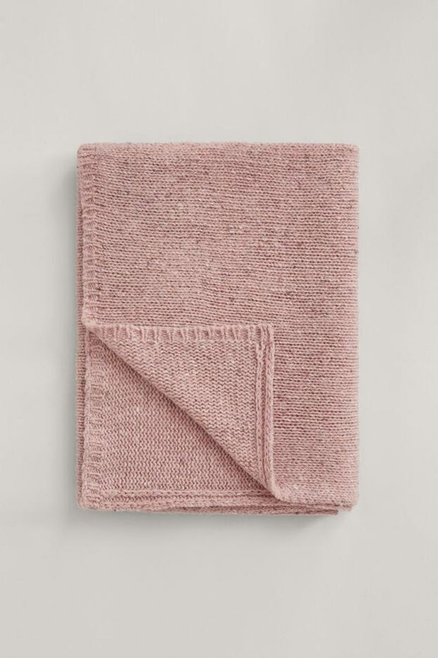 Joseph Echarpe Tweed Knit - Pink