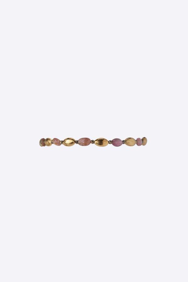 5 Octobre Bracelet AGLY - Tourmaline Rose