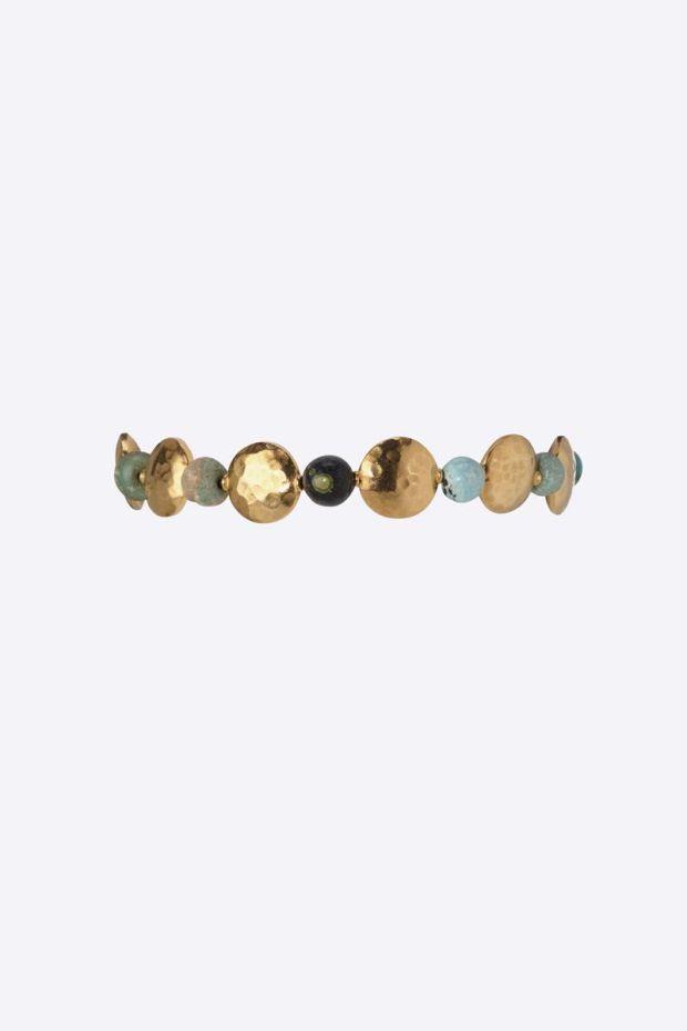 5 Octobre Bracelet BALOON - Argent doré Or fin