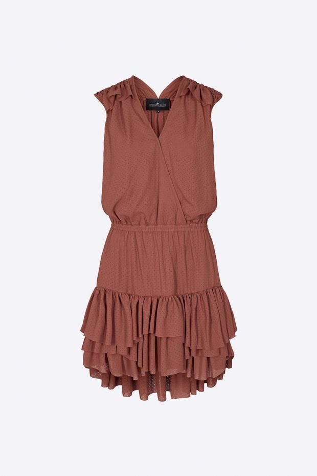 Designers Remix Byron Summer Dress - Ox Blood