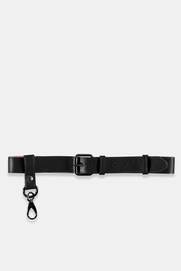 Essentiel Antwerp Teodoro zip pouch Belt - Black