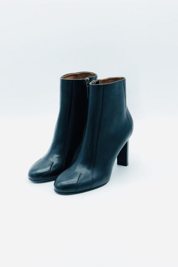 Michel Vivien Boots LEARY - Rusticalf Milled NERO