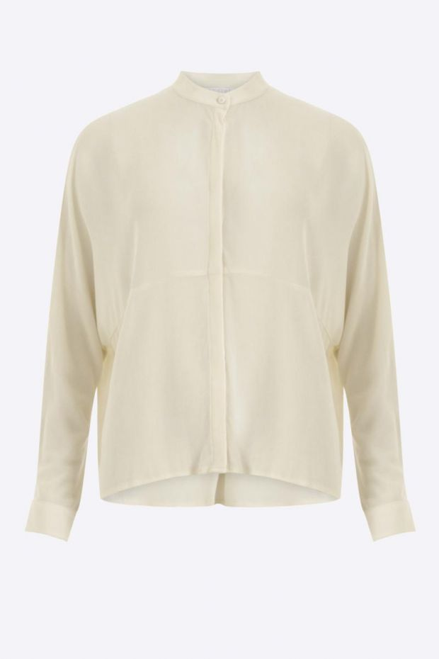 Coster Copenhagen Shirt w. cutline at body - Cream