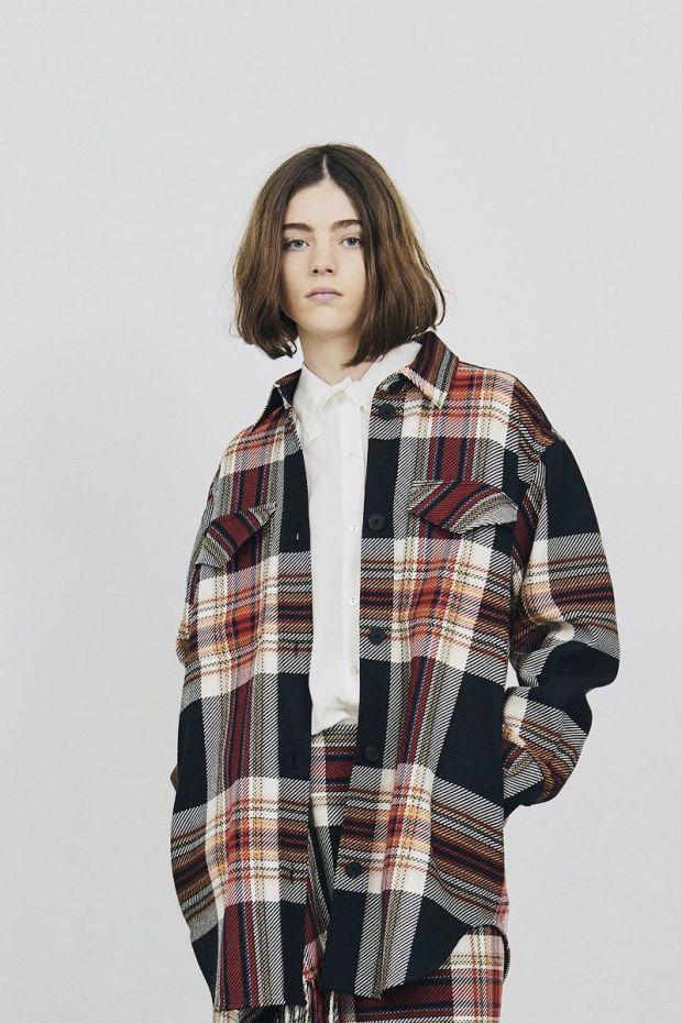 Designers Remix Claudia Shirt Coat - Multi Colour Check