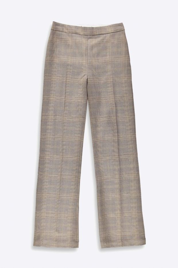 Essentiel Antwerp Tellme Wide leg Pants - Combo Golden Brown