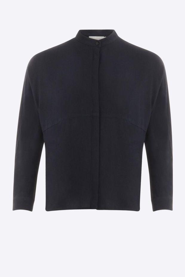 Coster Copenhagen Shirt w. cutline at body - Night Sky Blue