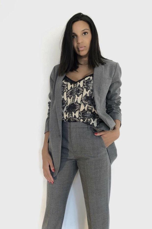 Designers Remix Radley Suit - Grey Check