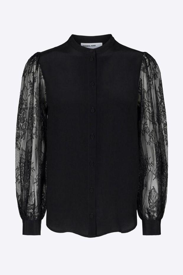 Designers Remix Melissa Mix Shirt - Black