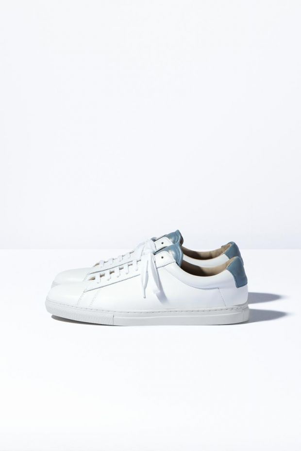 Zespa Sneakers ZSP4 Apla Nappa White  Ice