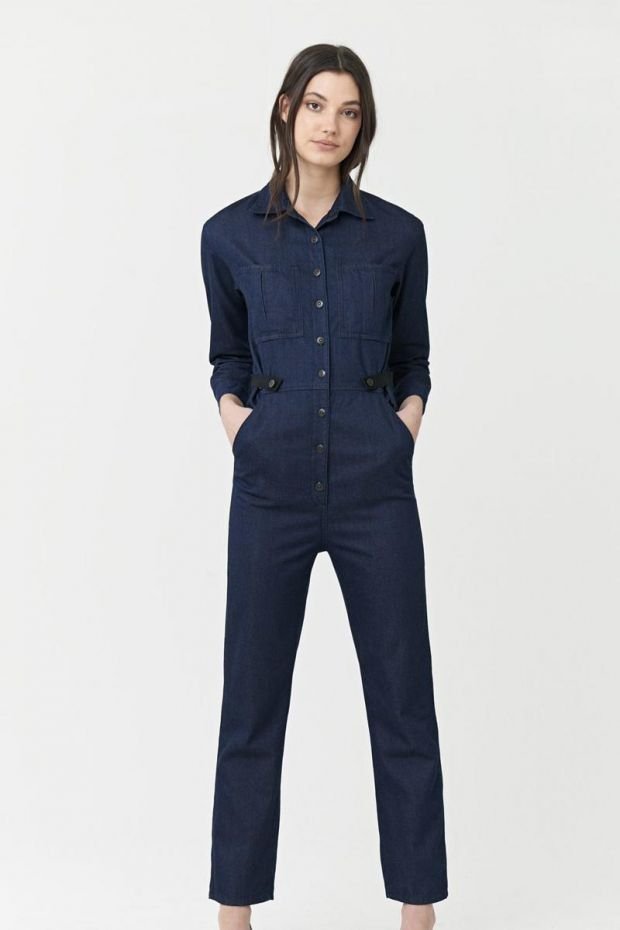 3x1 Denim Joelle Jumpsuit - Bowers