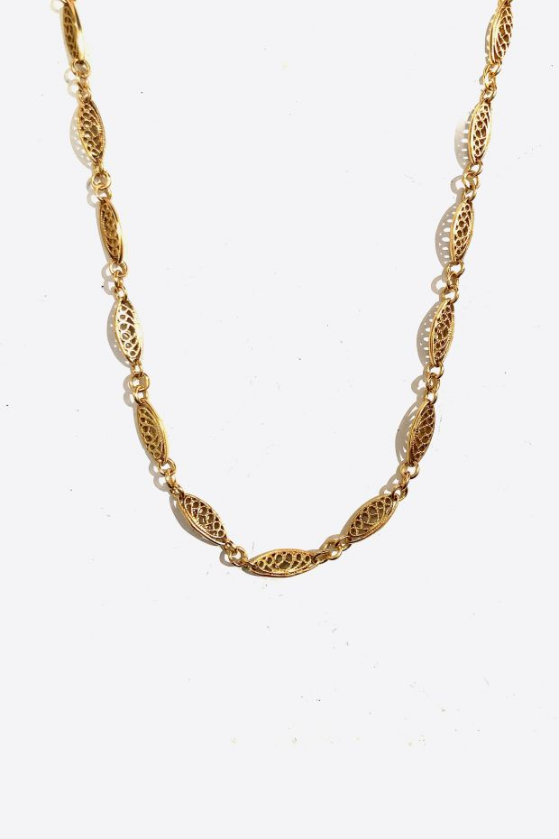 Bohemian Rhapsodie Collier MARGOT - Bronze Or 5 Microns