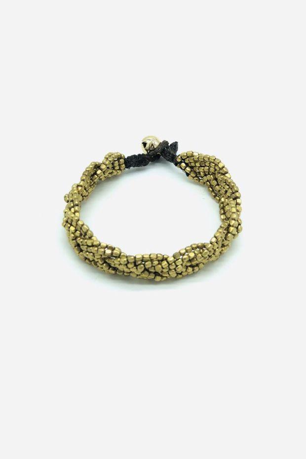 Bohemian Rhapsodie Bracelet LILI - Tresse Bronze
