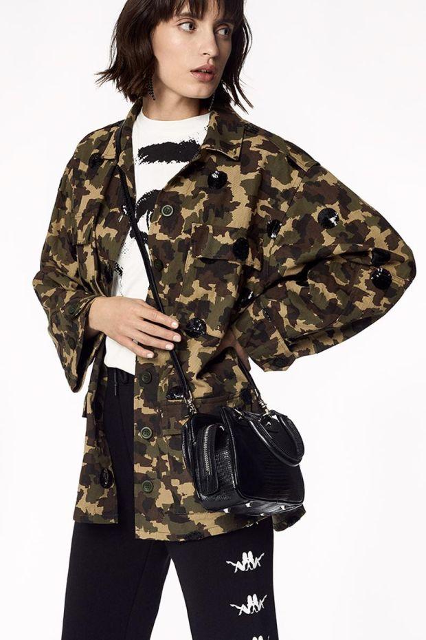Essentiel Antwerp Army Jacket VENGABOYS - Combo Winter Moss