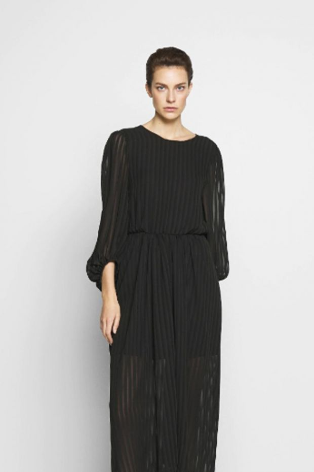 Designers Remix Corinne Long Dress - Black
