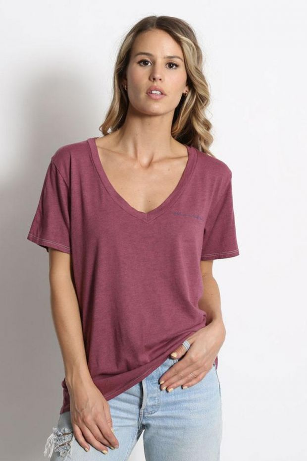 good hYOUman. Tee - Shirt Aiden - Thankful Embroidery - Malaga