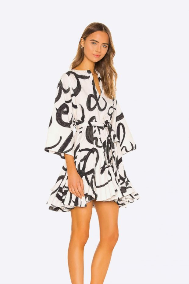 RHODE Ryan Dress - Script