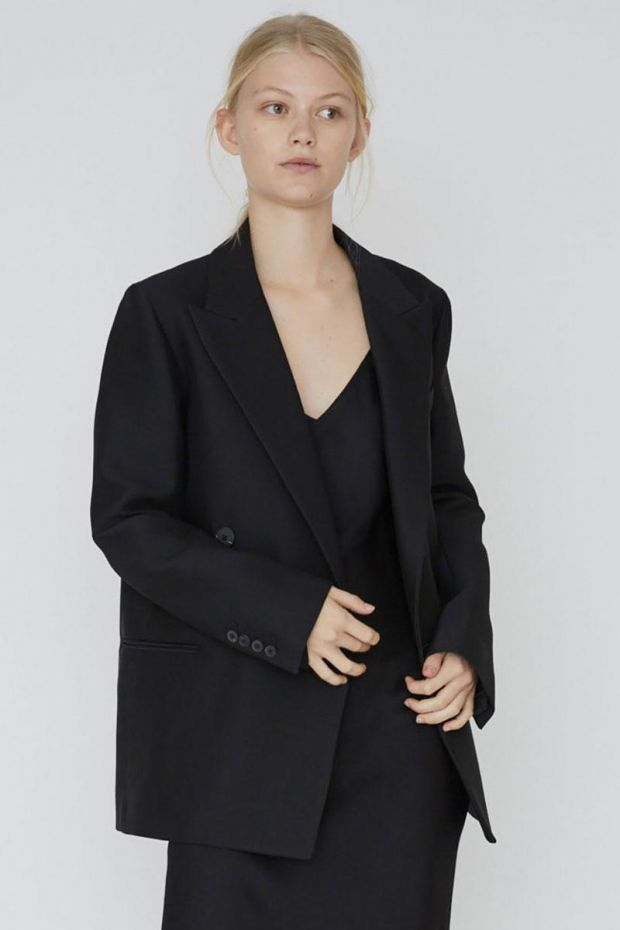 Designers Remix Hailey Blazer - Black