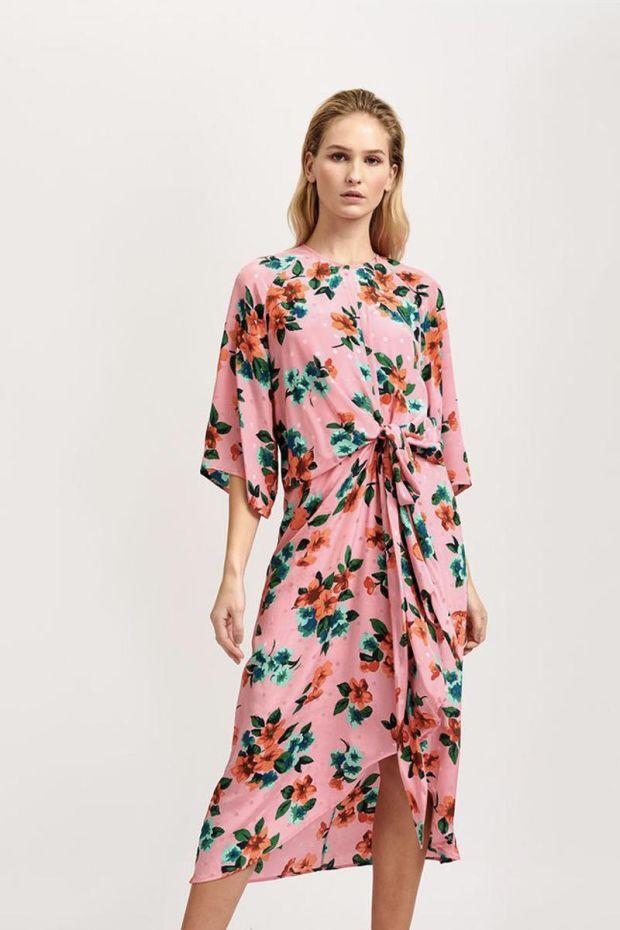 Essentiel Antwerp Robe VAYEN - Firenze Fraise