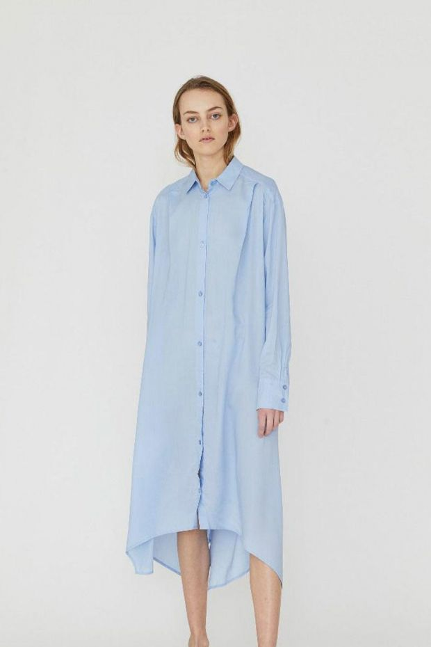 Designers Remix Ayoness Long Shirt - Light Blue