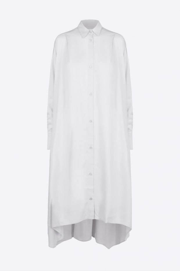 Designers Remix Ayoness Long Shirt - White