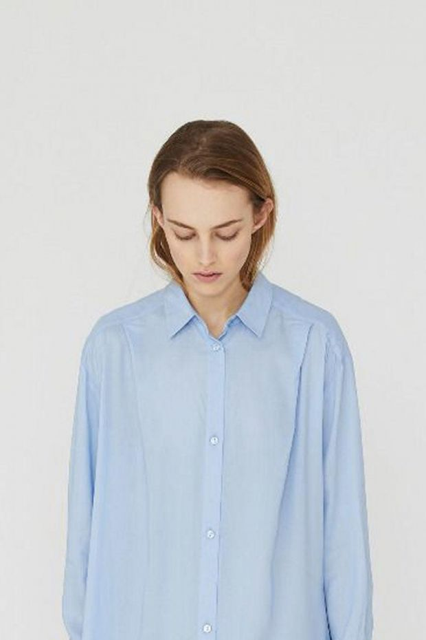 Designers Remix Ayoness Shirt - Light Blue