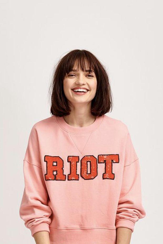 Essentiel Antwerp Sweatshirt VIOT - Firenze Fraise