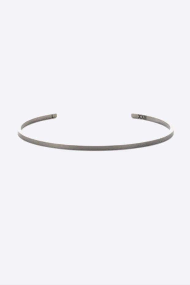 XXII Jewelry Jonc Titane Lisse - 2,5 MM