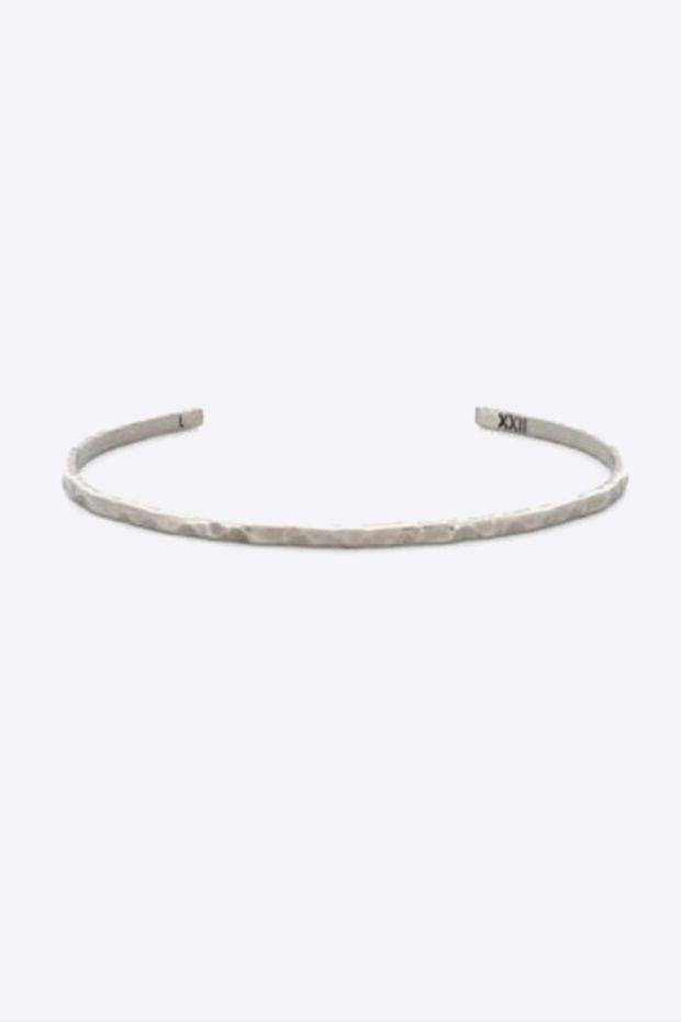 XXII Jewelry Jonc Titane Wabi-Sabi - 2,5 MM