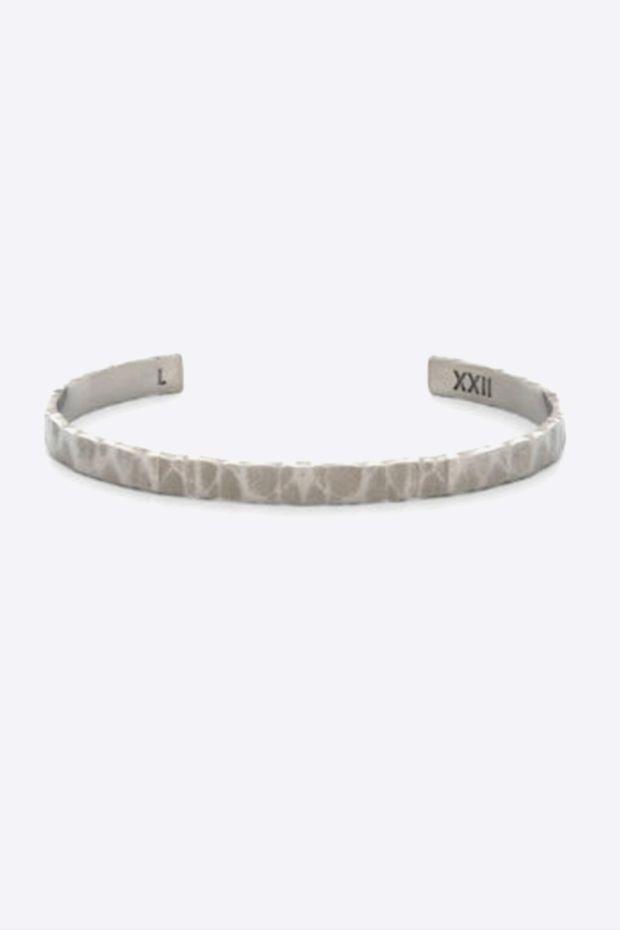 XXII Jewelry Jonc Titane Wabi-Sabi - 6 MM